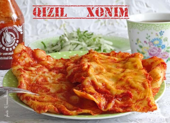 QIZIL XONIM ( BOZOR XONIM)